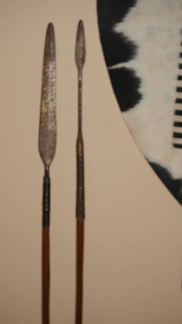 Antique Zulu Iklwa (Shaka Stabbing Spear)
